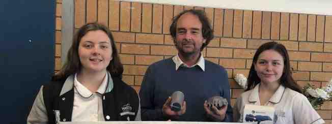澳洲黑斯廷斯中學將利用回收塑膠製作義肢。(取財自Hastings Secondary College網站)