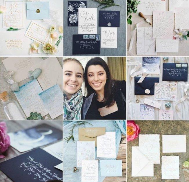 兩名女藝術家因本身基督教信仰,拒絕為同性婚禮製作喜帖,聯邦最高法院作出對兩女有利判決,認定這是她們的合法權益。(取材自Instagram)