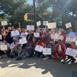 抗議TLC新規限制網約車上線時間 逾千司機遊行