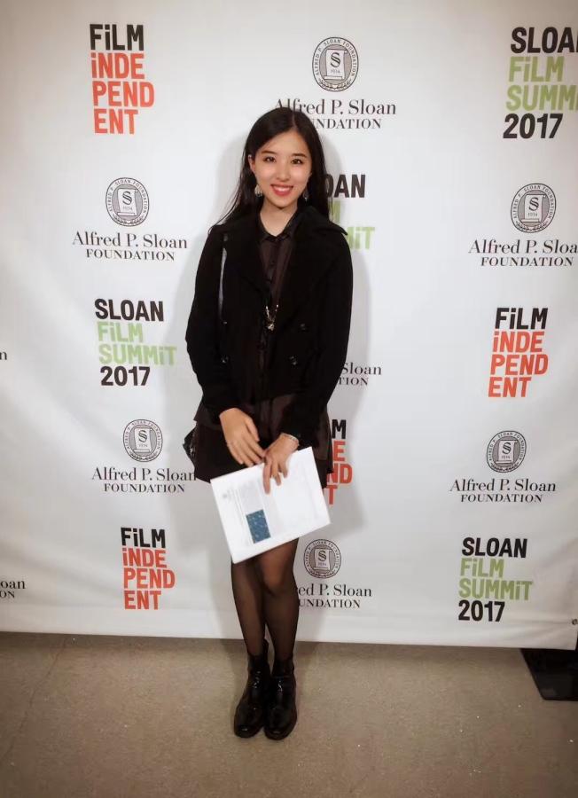 方初妍希望未來能參與更多作品的製作,讓觀眾們看到最好的電影。(方初妍提供)