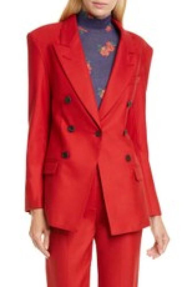 SMYTHE紅色西裝。(Nordstrom圖片)