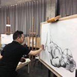 親自示範畫裸體惹議 四川美術學院院長反批「美盲」