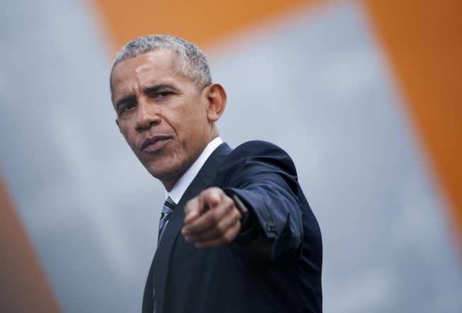 前總統歐巴馬本周三(18日)來灣演講,內容是大數據(big data)。(Getty Images)