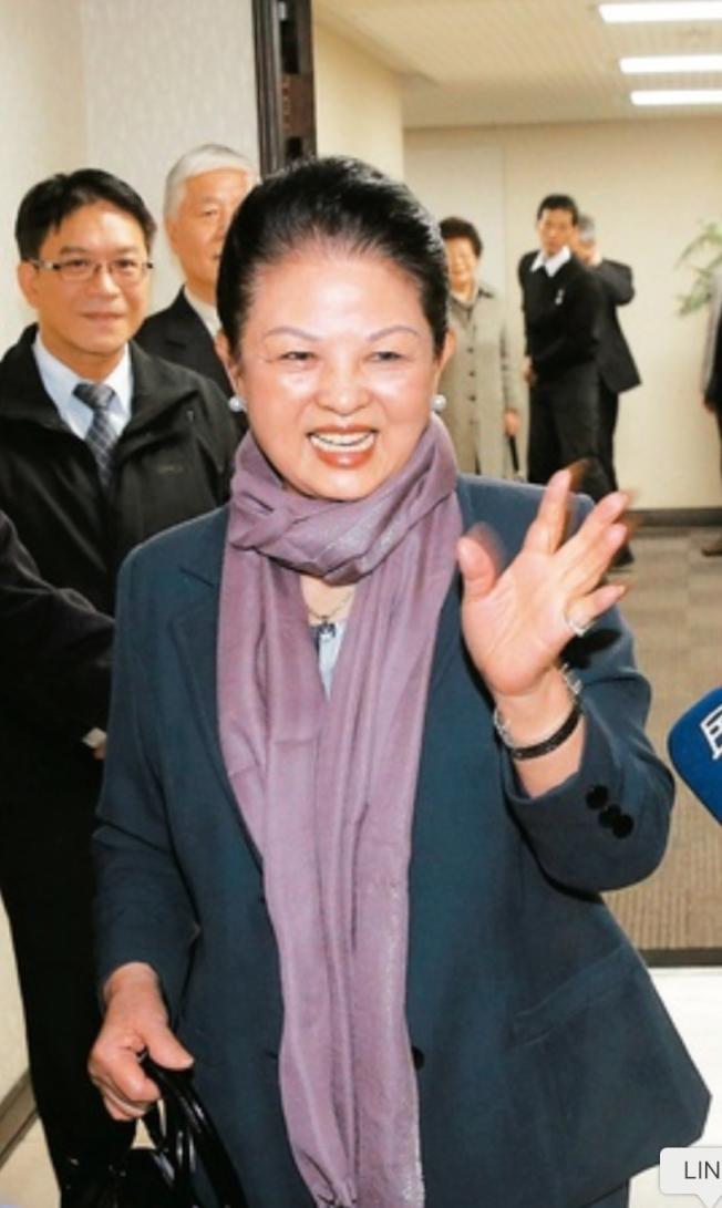 王永慶三房妻子李寶珠(圖)為了反制二房長子王文洋爭產官司,向法院提出自己是王永慶合法配偶權的主張。(本報資料照片)