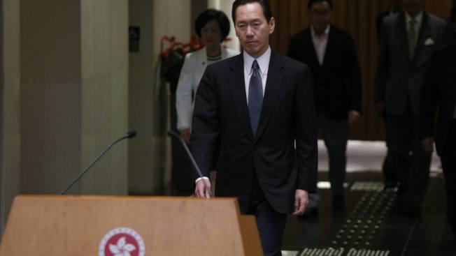 香港特首林鄭月娥的首席顧問、行政會議召集人陳智思。圖/取自香港01