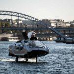 巴黎水上計程車會飛 預計明年春天上路