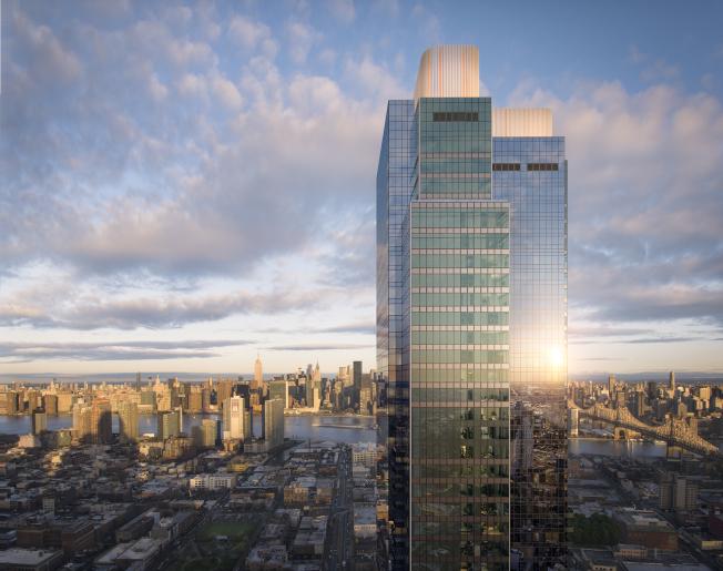 長島市Skyline Tower豪華住宅大樓,將成為紐約市曼哈頓以外最高大樓。