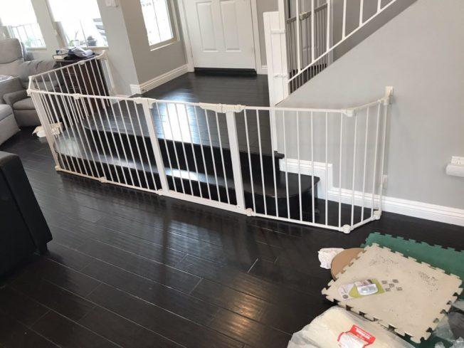 樓梯是兒童安全最大威脅之一。(Safer Baby)
