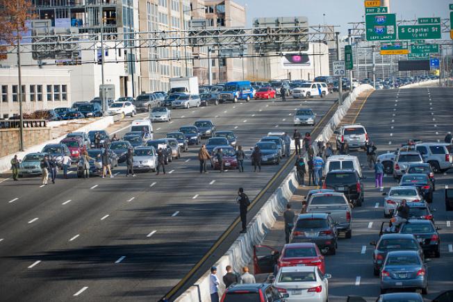 I-395快速拼車道11月起浮動收費。(Getty Images)
