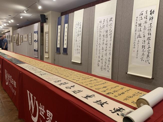 「紀念王己千、張隆延暨師友書畫展」將於20日起開展,歡迎民眾參觀。(記者賴蕙榆/攝影)