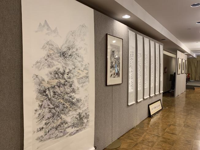 「紀念王己千、張隆延暨師友書畫展」訂於20日起開展,歡迎民眾參觀。(記者賴蕙榆/攝影)