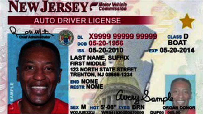 「真實身分證」駕照 新澤西州23日起換發