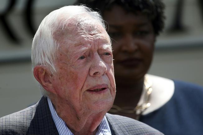 前總統卡特坦言,超過80歲的人無法勝任美國總統職務。(美聯社)