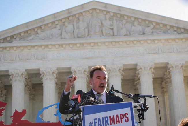 加州前州長阿諾批評川普政府取消加州豁免權,是非美國的作法。(路透)