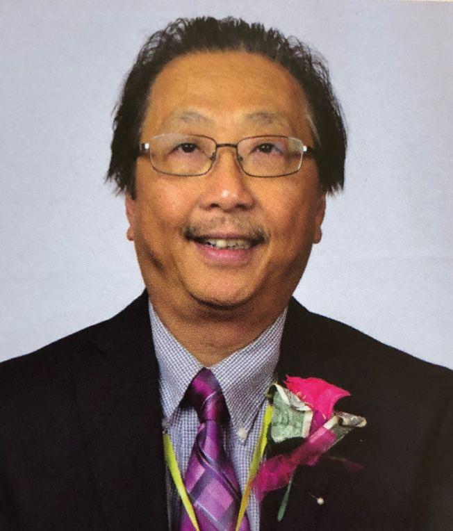 李氏敦宗公所主席李金生宣布競選2020年羅省中華會館副主席。(李金生提供)