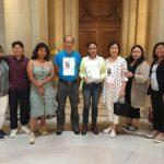 菲慰安婦權益人士 獲金山議會表彰