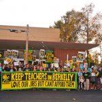 柏克萊教師示威 抗議薪水太低