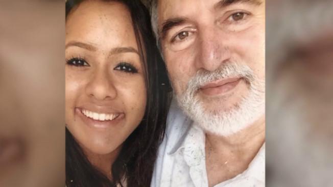 這對父女一起喪生,23歲的女兒卡美拉(Camilla)秋天才剛上法學院。(電視新聞截圖)