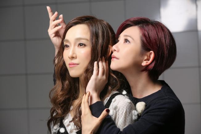 范瑋琪(左)與梁靜茹曾合唱及合拍MV。(圖:福茂提供)