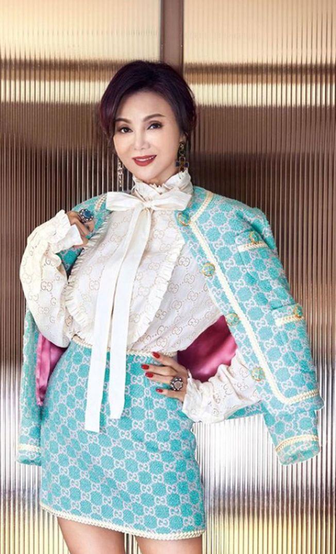 63歲的謝玲玲不見老態,風采依舊。(取材自Instagram)