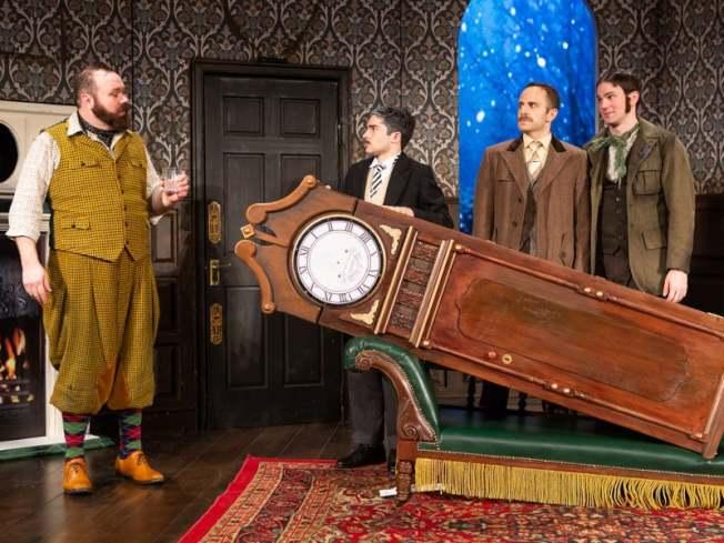 「The Play That Goes Wrong」曾獲勞倫斯奧利弗獎的最佳新喜劇獎。 (取自百老匯官網)
