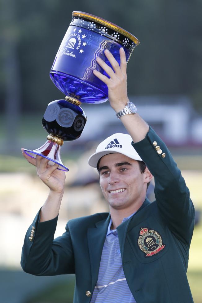 尼曼在PGA賽事的首冠,意義非凡。(美聯社)