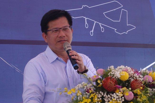 交通部長林佳龍呼籲國際社會支持台灣參與國際民航組織(ICAO)。記者劉星君/攝影