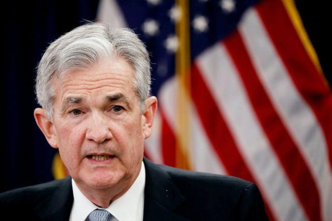 美國聯準會(Fed)主席鮑爾。路透