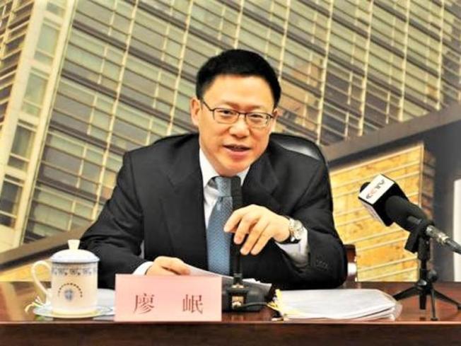 中央財辦副主任、財政部副部長廖岷率官員赴美談判。(圖/取自中國銀監會)
