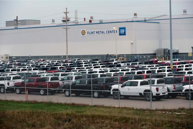 GM大多數供應商都有自己的供應商。(Getty Images)