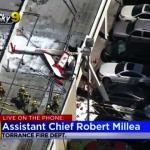 小飛機墜商場屋頂 1死1傷