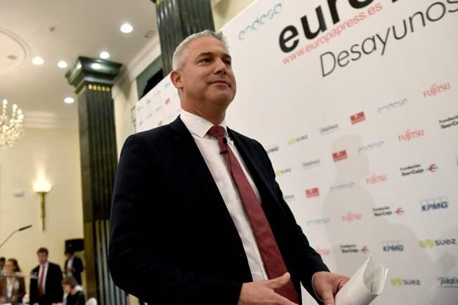 英國脫歐大臣巴克萊20日將與歐盟脫歐談判首席代表會晤。(Getty Images)