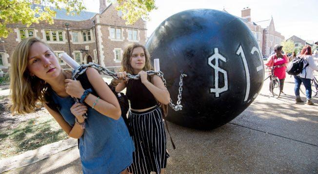 大學生畢業就揹債 去年平均欠2.9萬元學貸 創新高