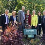 皇后區植物園「團結花園」開幕 象徵文化融合
