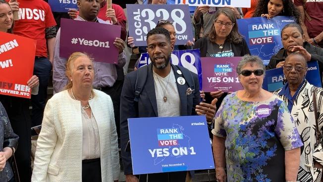 威廉姆斯表示,排序復選制不僅能夠鼓勵更多選民參加投票,也將有助於更多移民、有色人種和女性參政。(記者和釗宇/攝影)