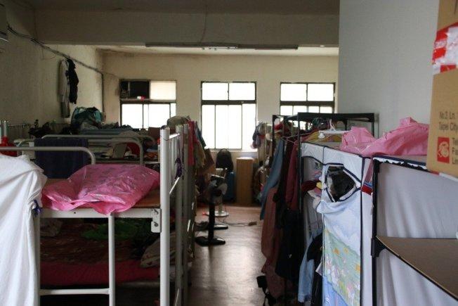 男大生長時間待在宿舍寢室不外出,引發肺栓塞,圖非當事宿舍。(報系資料照)