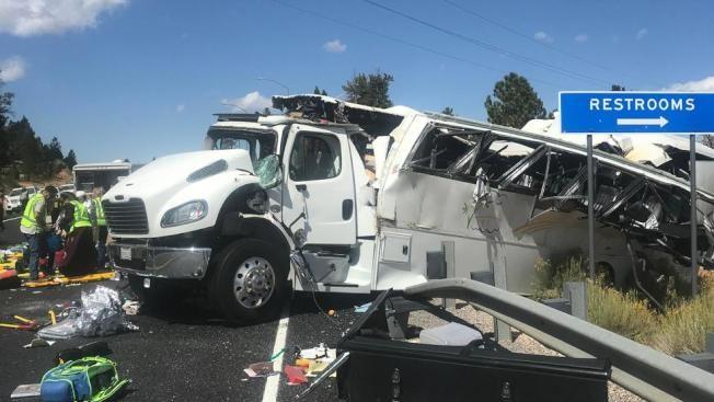華人旅巴翻車4死! 近猶他州布萊斯國家公園  約15人受傷
