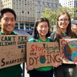 「氣候罷課」紐約30萬人參加 學生拿到病假條