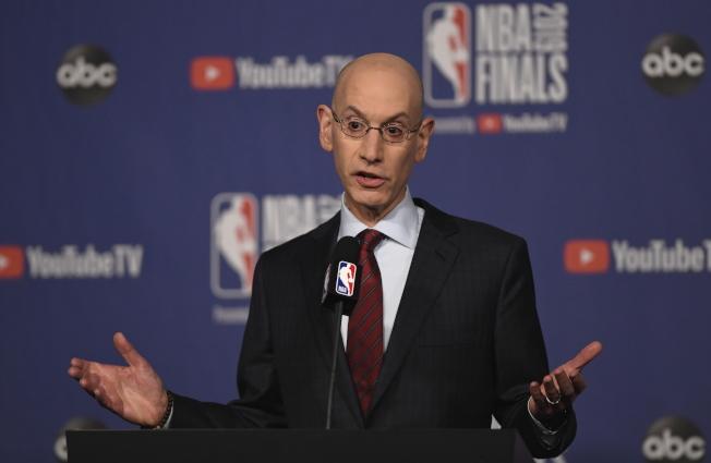 在席佛主導下,NBA聯盟對於違規招募將祭出重罰。(美聯社)