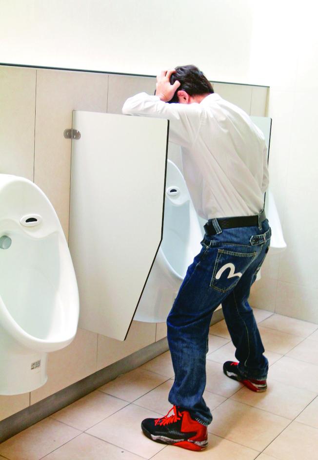 攝護腺肥大是中老年男性經常會遇到的問題。(本報資料照片)