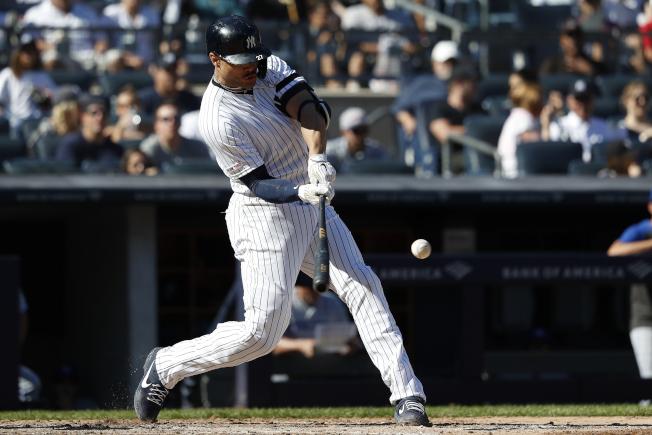 洋基史丹頓敲出本季第二轟,三打數兩安打、帶有兩分打點,幫助投手派克斯頓成為連十場先發勝投。(美聯社)