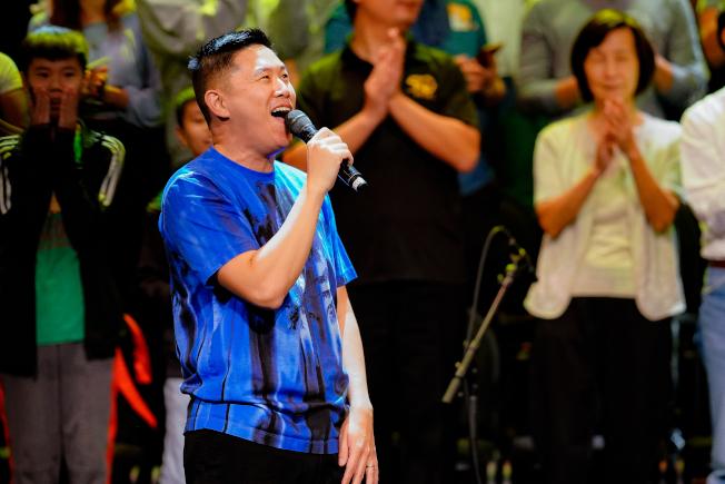 華裔饒舌歌手歐陽靖分享他對等待的感悟。(主辦方提供)
