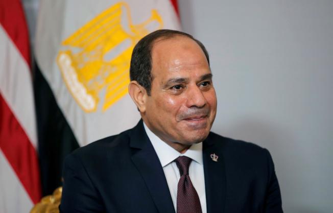 在塞西的鐵腕統治下,埃及幾乎未出現過抗議活動,因此這次是相當罕見的抗議舉動。(路透)