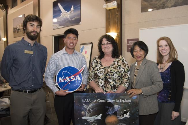 學生獲得在NASA實習的機會。(史丹福領袖教育提供)