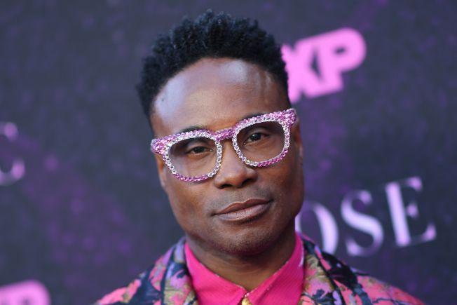 周日晚間的艾美獎頒獎典禮,將有許多LGBTQ演員展現才藝。圖為首位公開出櫃的非洲裔男星波特,獲提名戲劇類最佳男主角。(Getty Images)