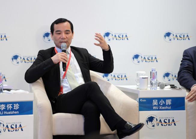 前安邦集團實控人吳小暉傳又被追繳違法所得752.4851億人民幣。(新華社)