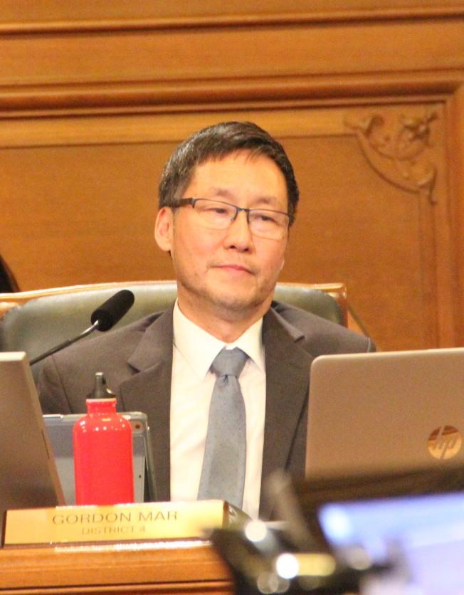 市議員馬兆明在當選之後,推動兩個選舉獻金制度的改革。(記者李晗/攝影)