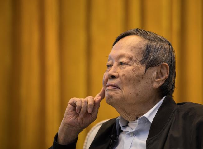 諾貝爾物理學獎得主楊振寧。(新華社資料照片)