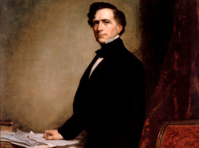 1854年上任的第14位總統皮爾斯(Franklin Pierce)受到多重因素影響,擱置了買下台灣的想法。(Google Art Project)