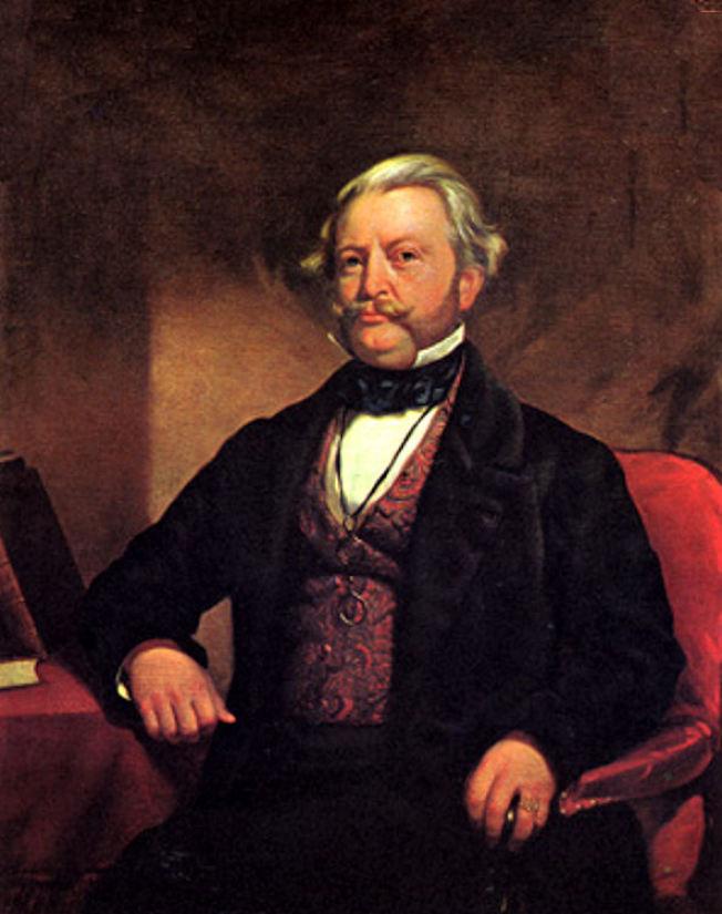 首任美國駐日本公使哈里斯(Townsend Harris)於1854年向國務院建議,美國應買下台灣,以鞏固在亞洲的商業利益。(麻省理工學院之文化視覺化官網)